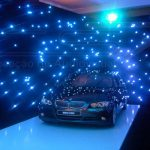 Cortina de LED e Palco