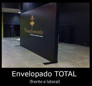 Backdrop Envelopamento Total Frente e Lateral
