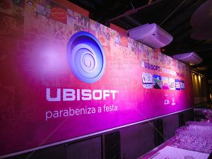 Backdrop Ubisoft - Bar OCA Tupiniquim
