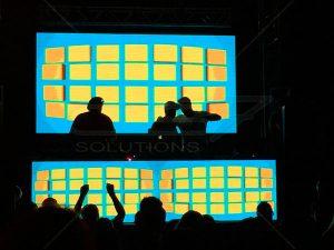 Painel de LED para DJ 3,20 x 1,60 - Parte Inferior 3,20 x 0,80 - B