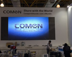 Painel de LED para Comen Share With The World