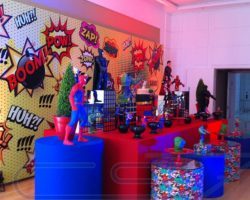 Painel Backdrop para Aniversário Infantil, confira mais em  www.cs7solutions.com.br