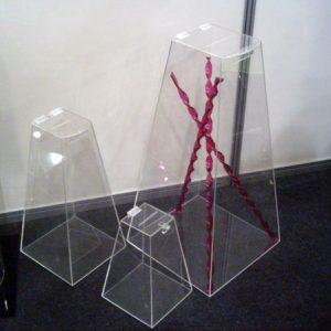 Urna Piramidal 50cm, 30cm e 75cm